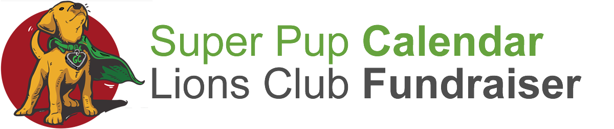 Super Pup Dog Guide Calendar Fundraiser